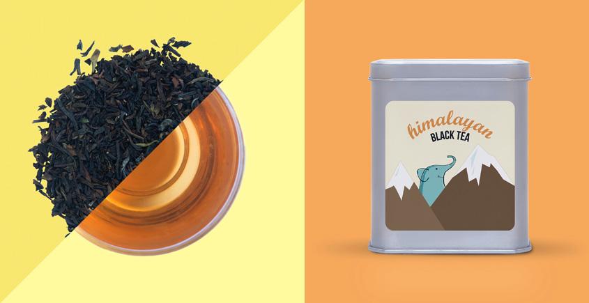 East Himalyan Black Tea ~ ( Organic . 15 tea bags )