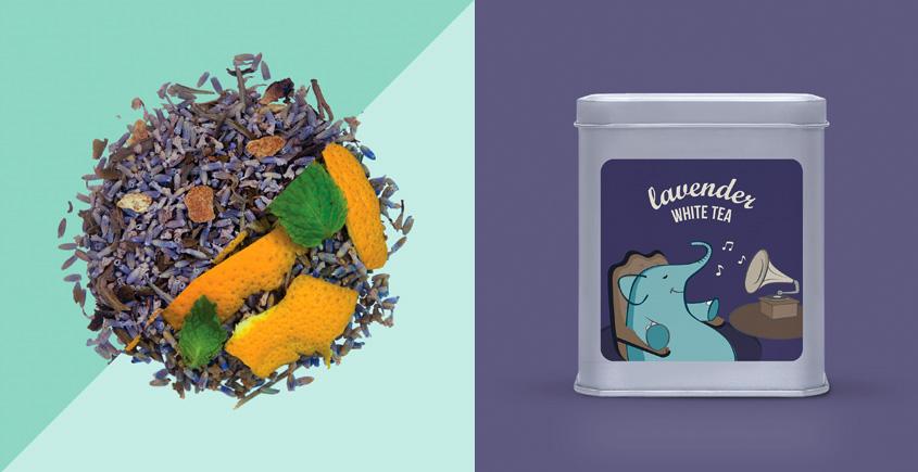 Lavender White Tea ~ ( Loose Leaf )