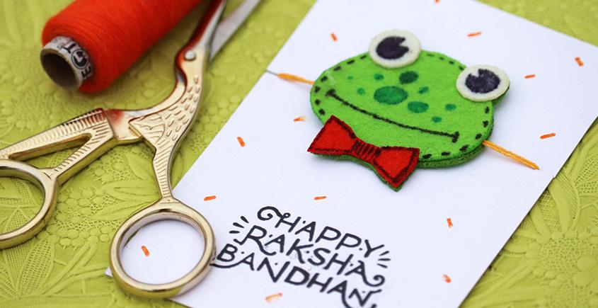 Rakhi ~ Spotty the frog ✺ E