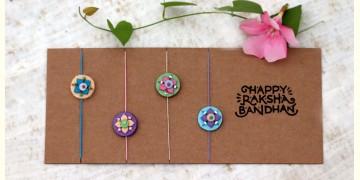 Small Floral Bead Rakhi ✺ A