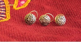 Nose ring silver { set of 3 } ~ 1