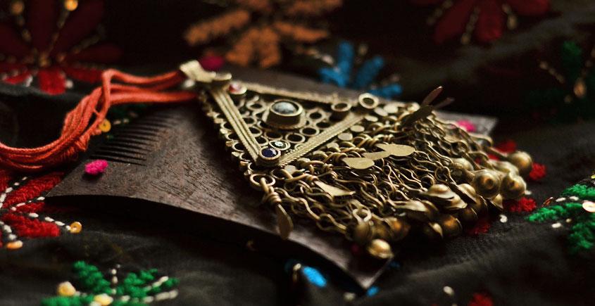Chandraprabha * चंद्रप्रभा ~ Vintage Pendent - 7