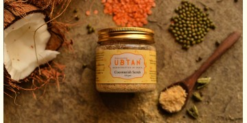 Ubtan ☘ Face Scrub - Coconurish Scrub ☘ 1 { 100gm }
