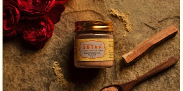 Ubtan ☘ Face Pack - Rose & Sandalwood Face Pack ☘ 2 { 50gm }