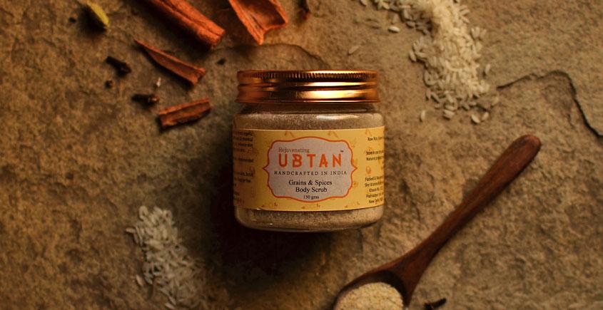 Ubtan ☘ Body Scrub - Grains & Spices Body Scrub ☘ 3 { 150gm }