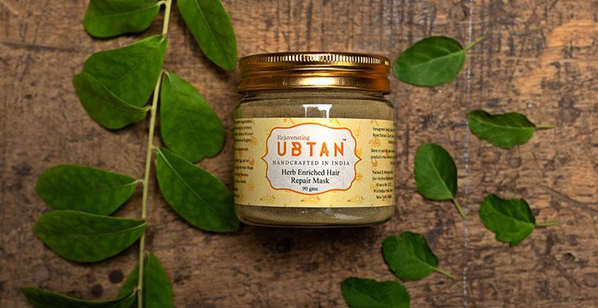Ubtan ☘ Herb Enriched Hair Repair Mask ☘ 8 { 90gm }