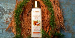 Ubtan ☘ Cold Pressed Extra Virgin Coconut Oil ☘ 10 { 50ml/200ml }