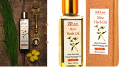 Ubtan ☘ Nine Herb Oil - Herb Enriched Head Massage Oil ☘ 13 { 50ml/200ml }