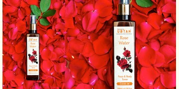 Ubtan ☘ Rose Water ☘ 14 { 200ml }