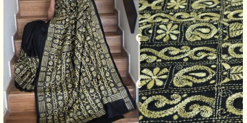 हरिणी ✥ Kantha Silk Saree ✥ 10