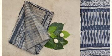 रितुपर्णा ⚘ Tussar Roller Printed Saree { L }