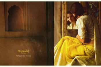 Meghadut ~ Maheshwari saree