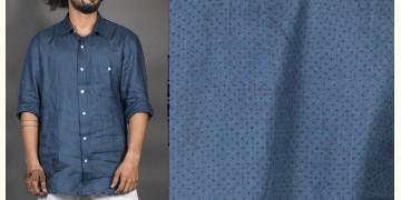 Taare ● Linen Block Printed Shirt ● 7