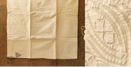 Applique double Bed Sheet 3 ( 90 X 108 inch)