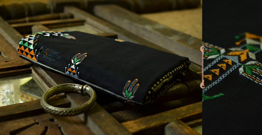 सूफियाना ~ Maheshwari . Embroidered Saree { 11 }