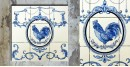 Grace the wall ~ DUTCH MURAL-C (Set of 9 tiles)
