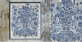 Grace the wall ~ DUTCH MURAL-D (Set of 20 tiles)