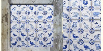 Grace the wall ~ DUTCH MURAL-E (Set of 25 tiles)