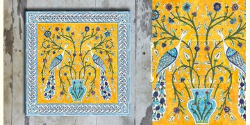 Grace the wall ~ TURKISH MURAL-G (Set of 4 tiles)