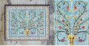 Grace the wall ~ TURKISH MURAL-I (Set of 6 tiles)