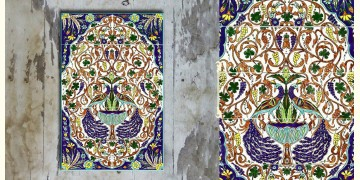 Grace the wall ~ TURKISH MURAL-J (Set of 15 tiles)