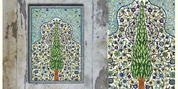 Grace the wall ~ TURKISH MURAL-N (Set of 18 tiles)