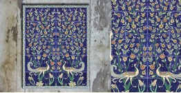 Grace the wall ~ TURKISH MURAL-O (Set of 20 tiles)