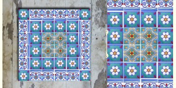 Grace the wall ~ TURKISH MURAL-P (Set of 36 tiles)