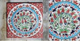 Grace the wall ~ TURKISH MURAL-S (Set of 4 tiles)