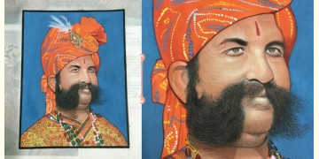 Miniature Painting ~ Maharaja