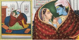 Miniature Painting ~ Rajasthan ~ Radha Krishna Together