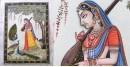 Miniature Painting ~ Rajasthan ~ Meera