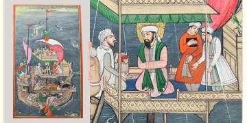 Miniature Painting ~ Rajasthan ~ Mughal Voyage