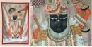 Miniature Painting ~ Rajasthan ~ Srinath ji {C}