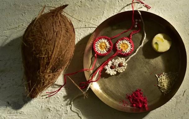 Crochet-Rakhi