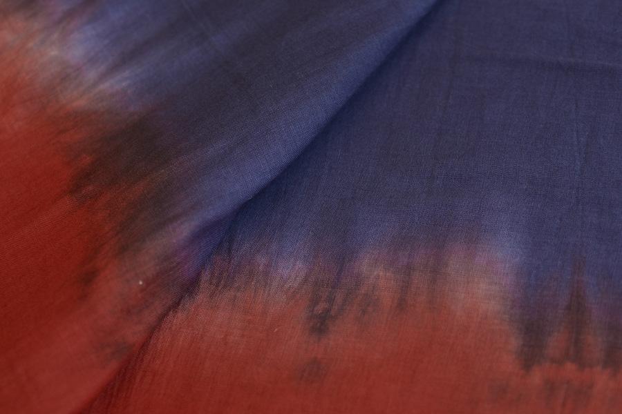 c2ff425e66a1 गुफ़्तगू ✾ Tie-Dye . Handcrafted Mulmul Cotton Saree { g }