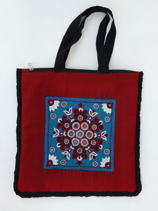 Buy kutch handwoaven traditional embroidered bag online
