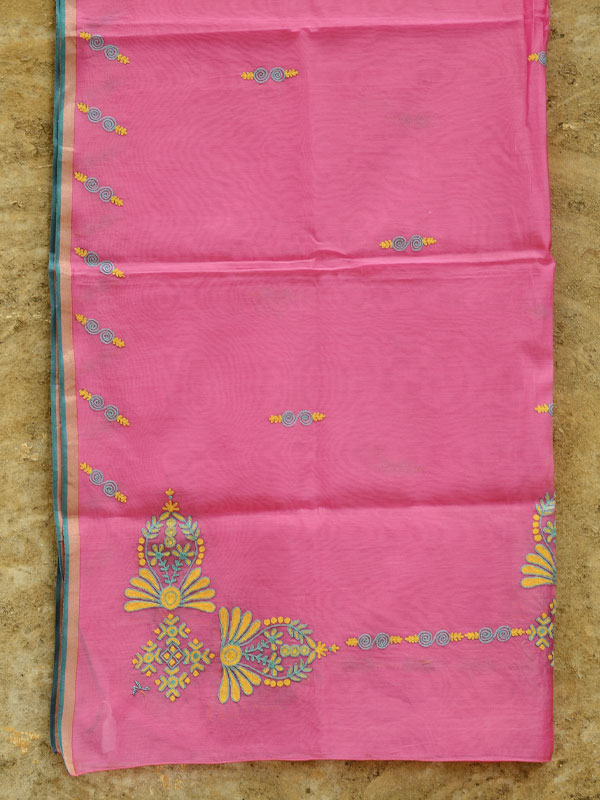 Hand embroidery designs for dupattas makaroka
