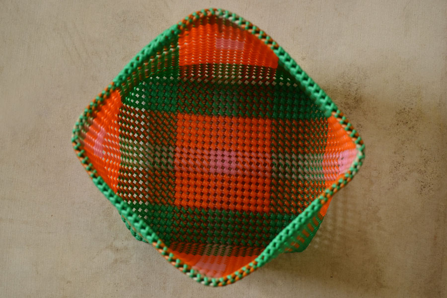 d801e4748948c Cuckoo's nest ♺ Recycled Plastic Basket with Cap ♺ 2