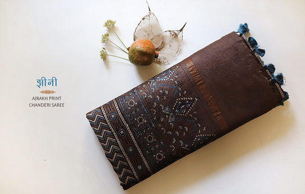 chanderi-ajrakh-saree