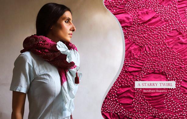 Buy-Bandhani-silk-Dupatta