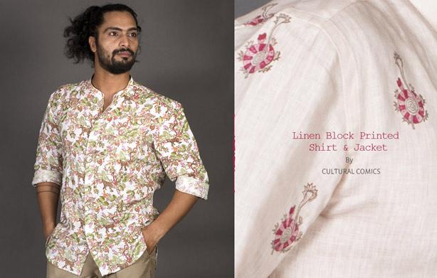 Buy-men-linen-printed-shirts