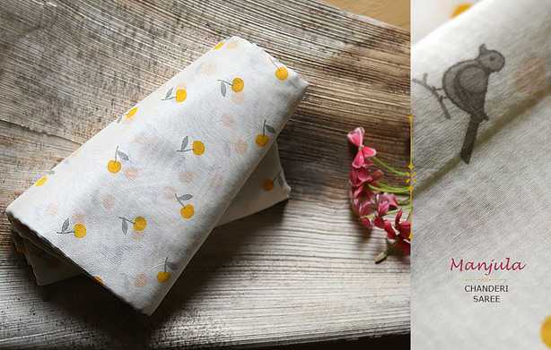 buy-designer-handloom-chanderi-saree-with-beautiful-flower-and-birds-print