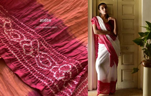 Gujarati-bandhani-saree
