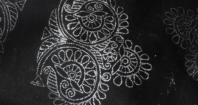 Buy Kantha Embroidery Bangalore Silk Saree Online